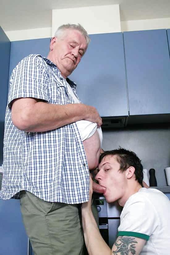 Suck old man of gay