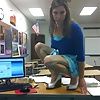 Hot Teacher makes Pics for Student (non-nude) Part 2