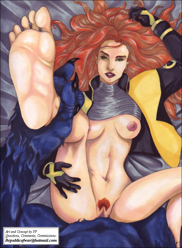 Dark Phoenix And Rogue By Megan Random And Lenox Knight