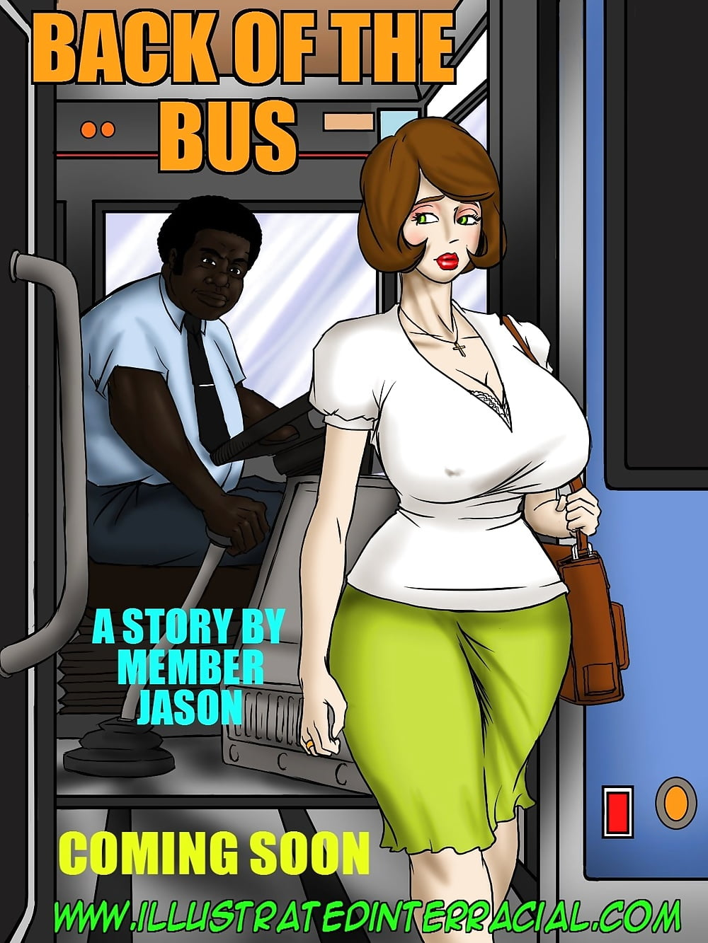 Boobs touch in the bus