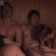 SAUNA Foursome We Are Hotter Then The Sauna :)