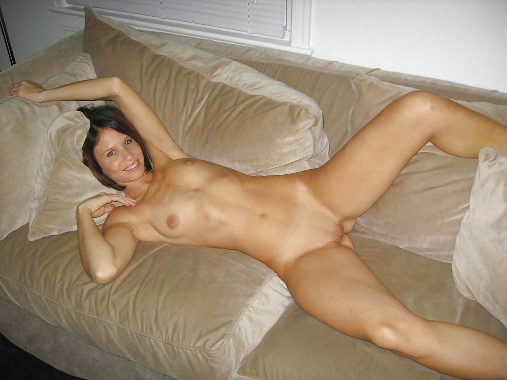 Gorgeous Women Are Naked, On The Sofa And Eagerly Masturbating Next To Each Other, All Day Long