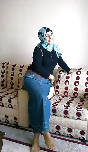 See and Save As turkish hijab nylon feet high heels sexy
