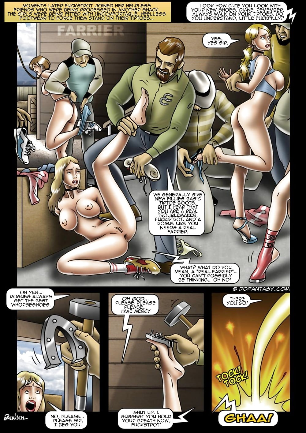 See And Save As Pony Girl Training Comics Porn Pict -6407
