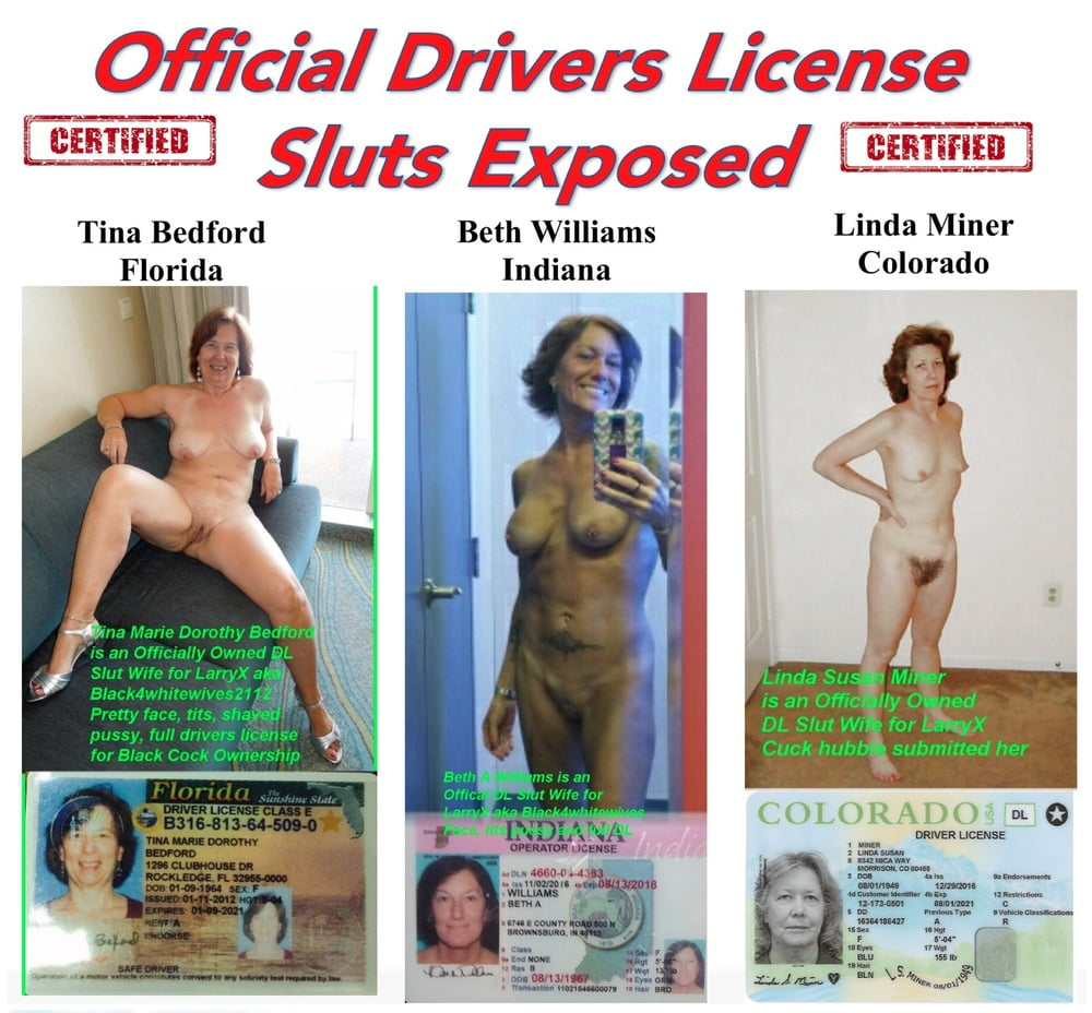 Woman Wears Colander For Driver's License Photo