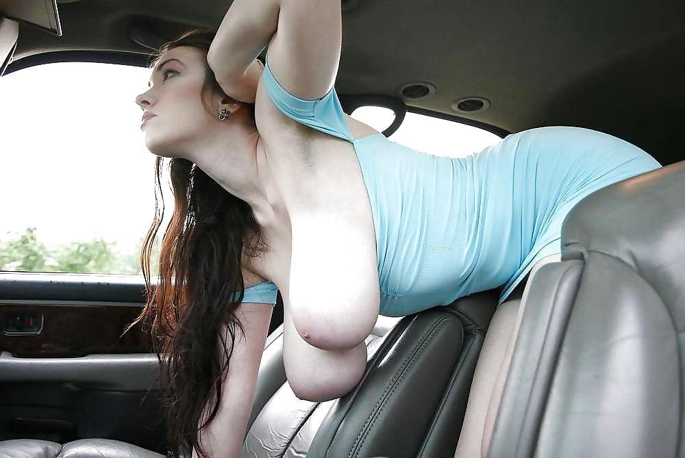 парень подвез девушку с большими сиськами временем