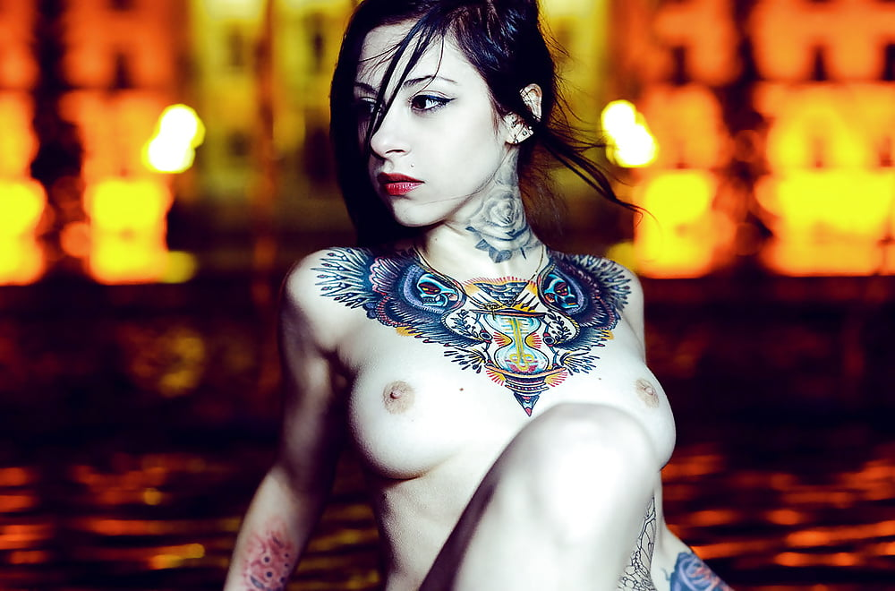 Introducing inked up hottie emma