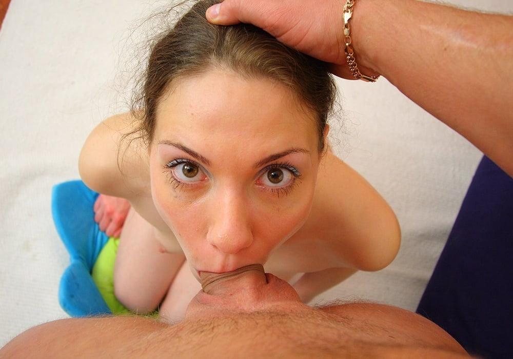 насаживать рот на член