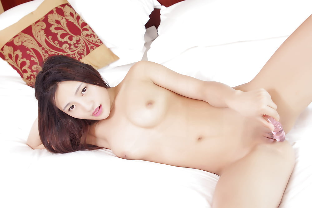 Girl chinese asian model beauty young scar