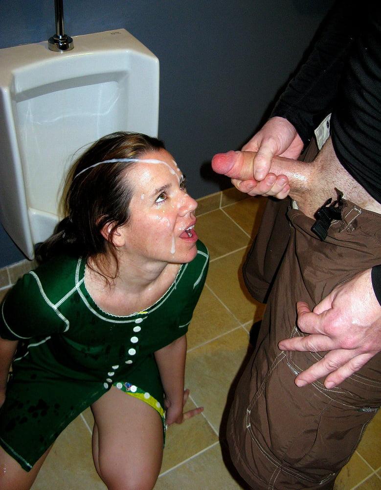 Cum on clothes faper place