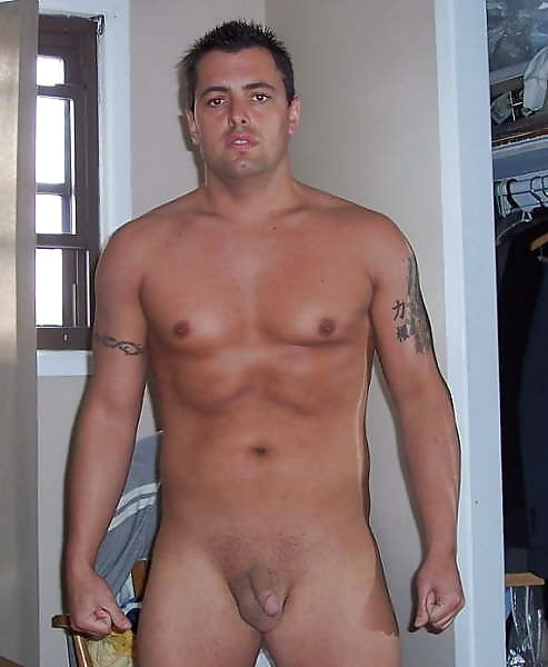 Amateur men with small penis