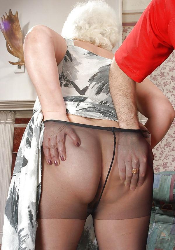Free mature stockings