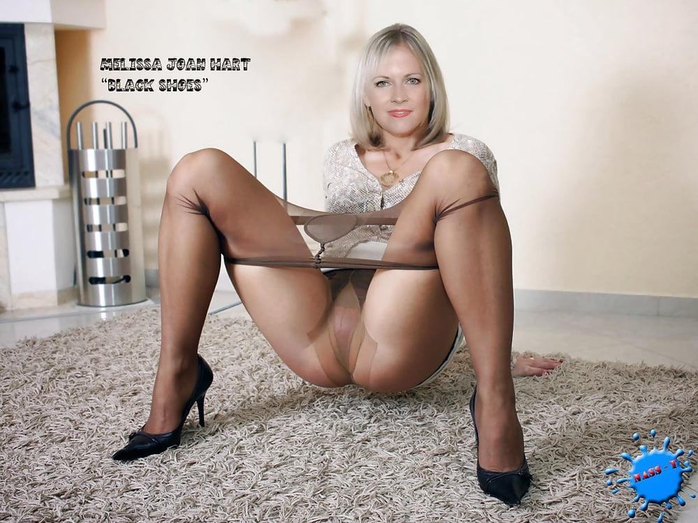 Melissa joan hart in pantyhose — pic 13