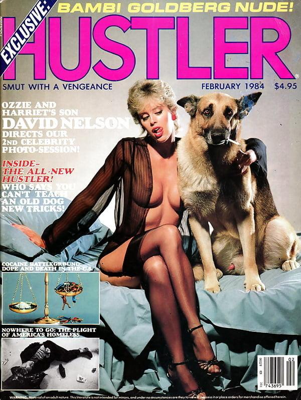 Vintage Hustler Magazine