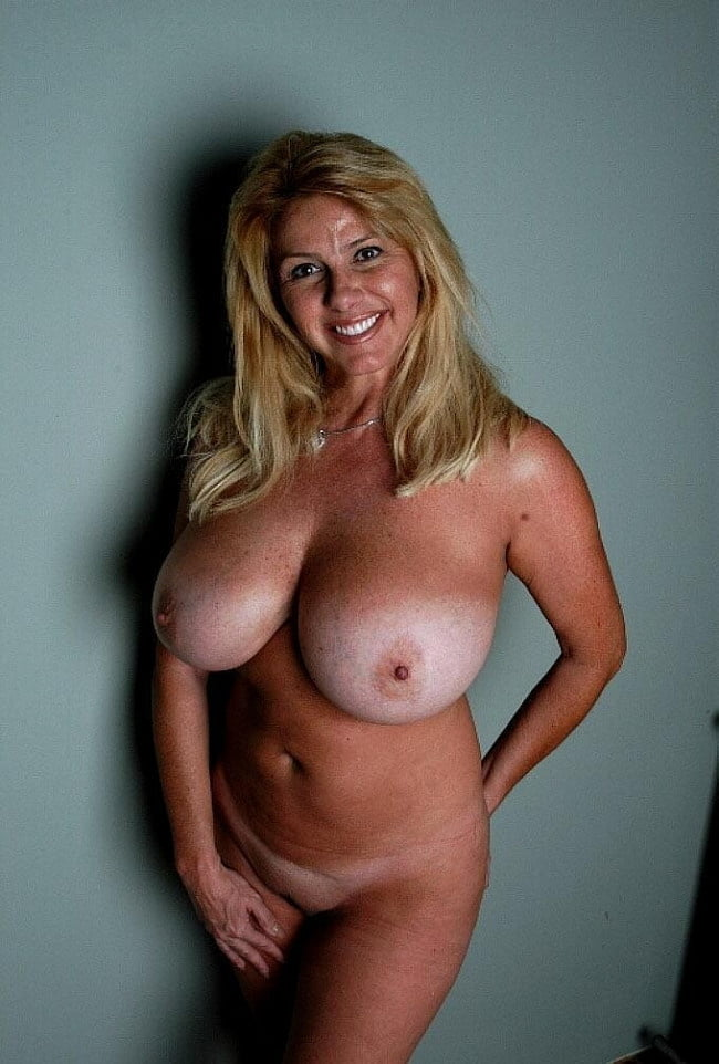 Busty tan mature nude, nudist naturist family