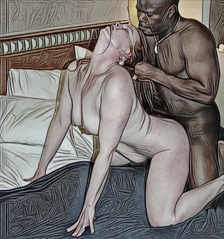 Interracial Art - 36 Pics