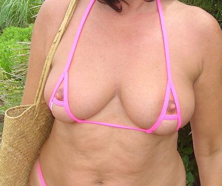 peekaboo bikini