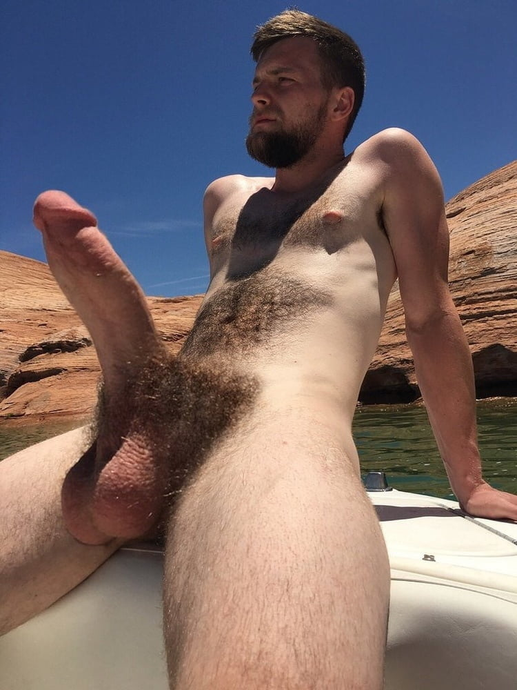 Hairy man thick cock
