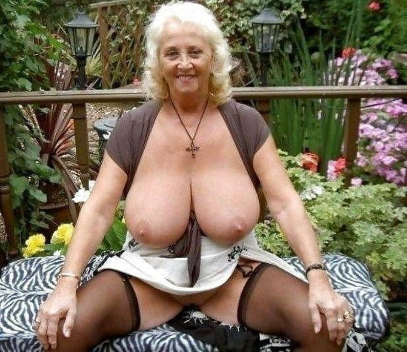 Mature Old Granny Big Boobs