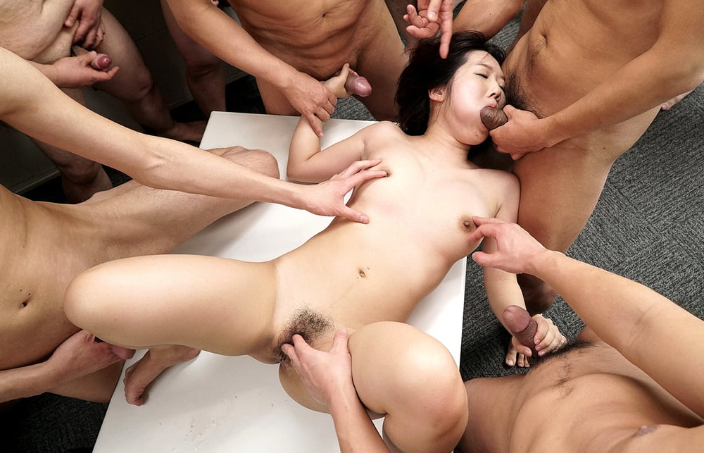 Gang bang japanes tube ladies eating
