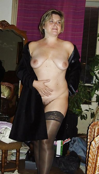 Naked Nude Trench Coat Pic