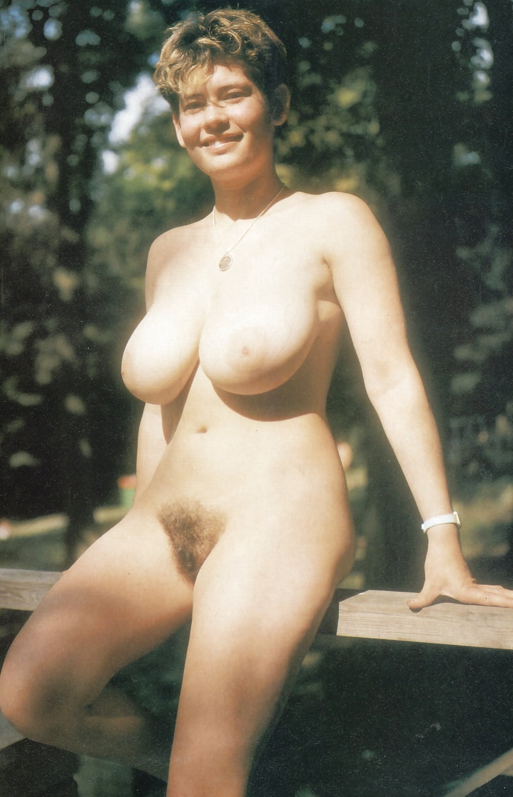 Two busty nudist girls about 30 years ago - 6 Pics | xHamster