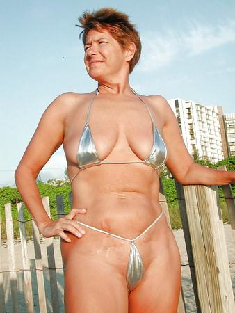 Big ass micro bikini