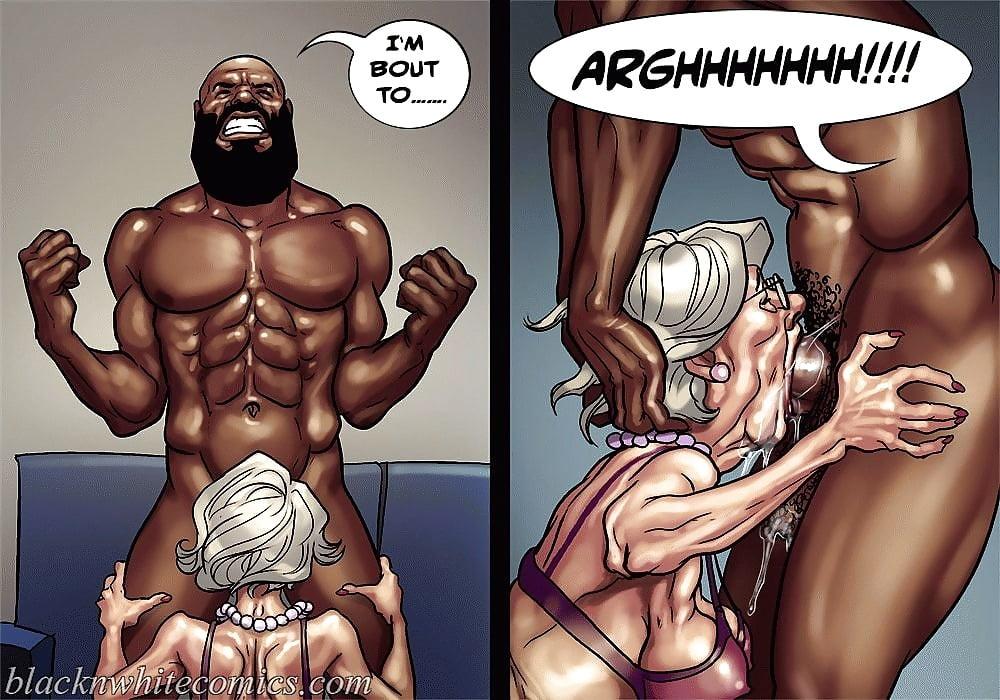 Interracial sex art drawings