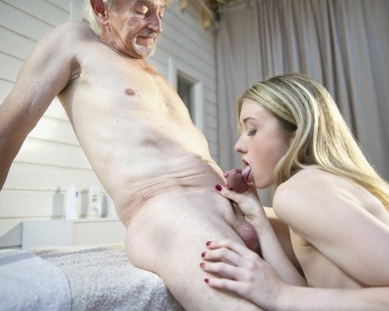 Old man small dick fucks — img 13