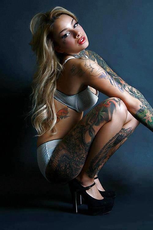 Pinup Girls Nude Tattoos