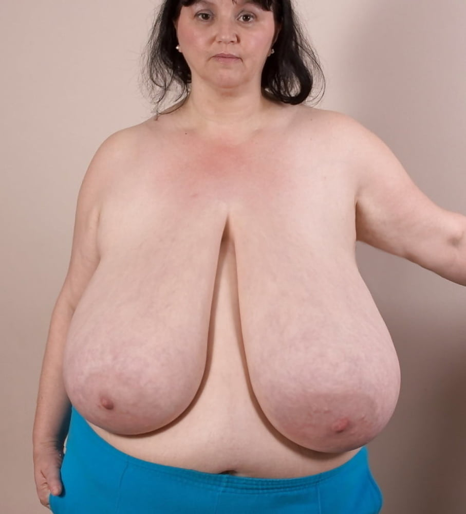 Huge mature breasts