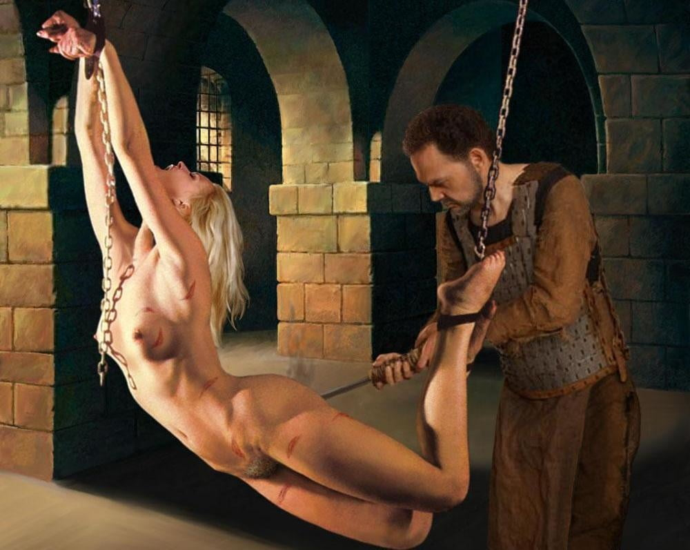 Nude black sex slaves
