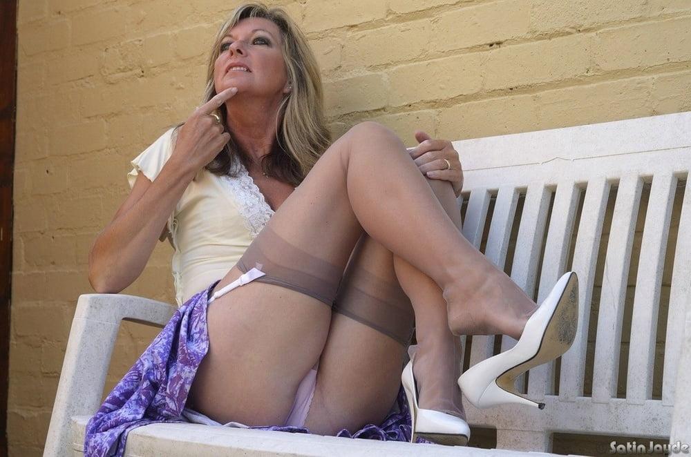 Sexiest Nylons Panties Upskirt Girls Mix Images 1