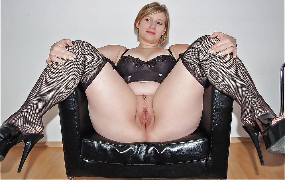 Chubby in stocking porn
