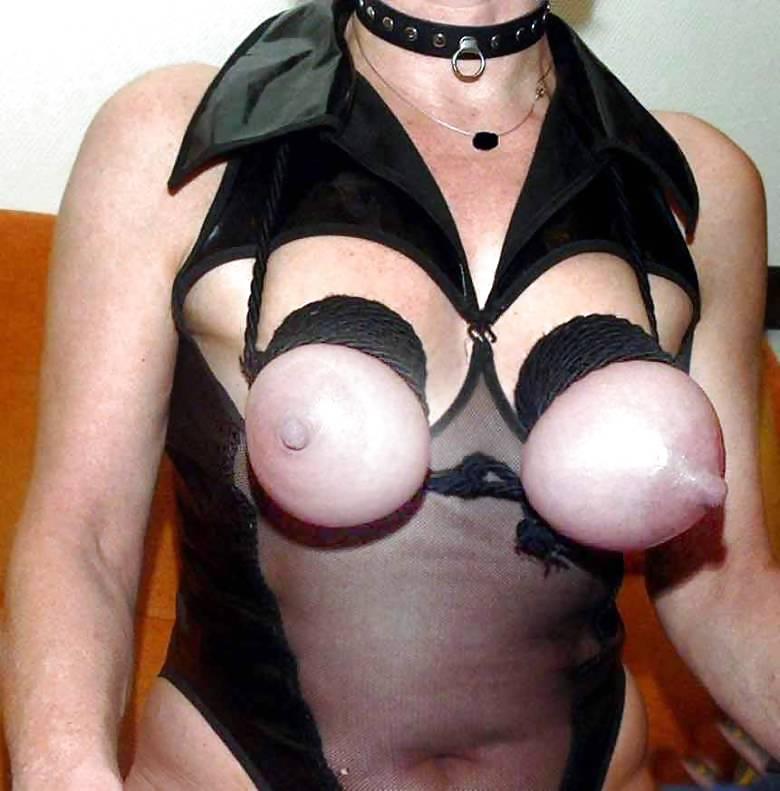 фото перевязанной груди бдсм она