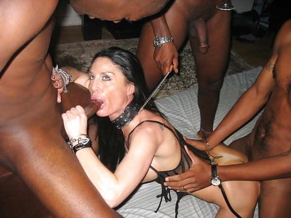 Slave wife nigger gangbang