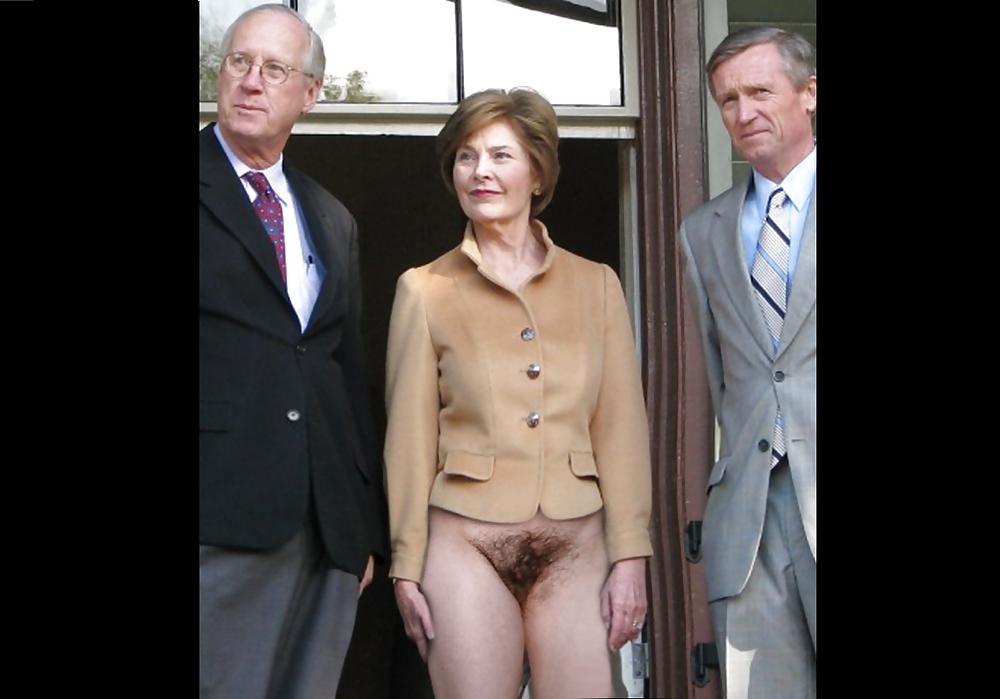 Free Laura Bush Nude