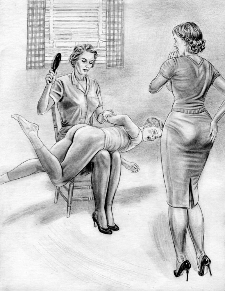Mature erotic hand spankings