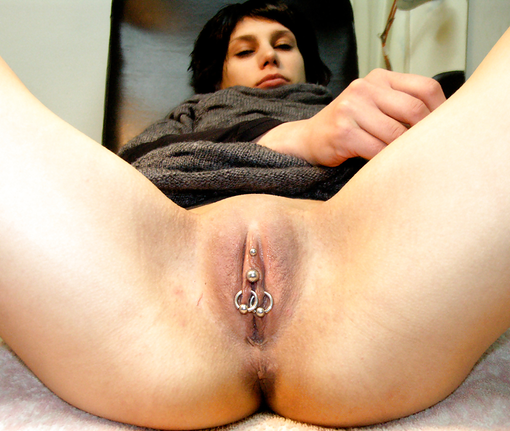 Hot Girl Nipple Piercings