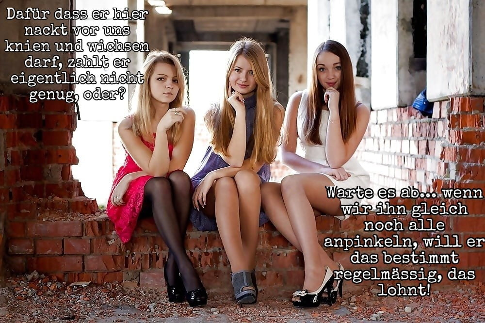 German femdom caption