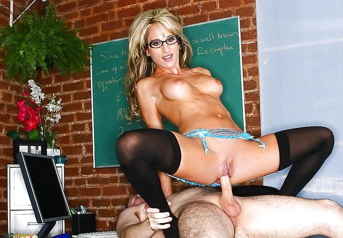 Blonde teacher emma starr fuck her student
