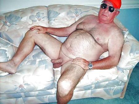 Alter Mann Nackt