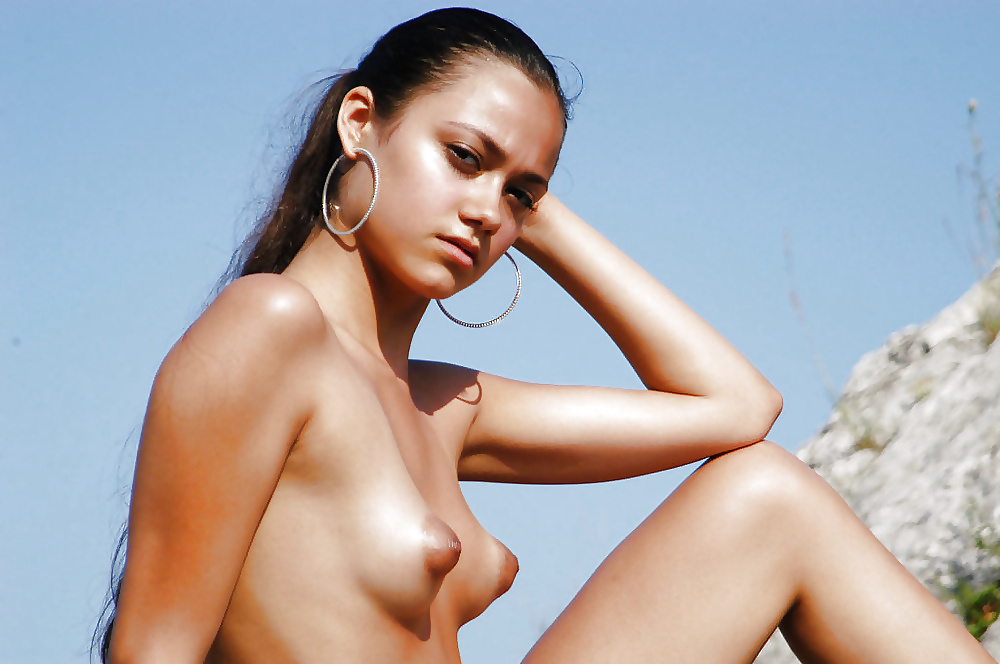 Nude Small Breasts Erect Nipples