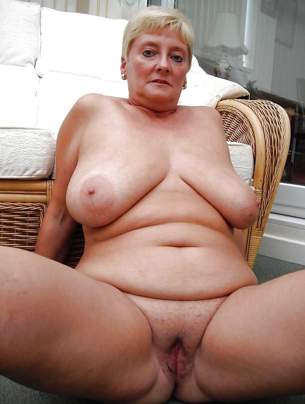 Granny Fat Big Tits Mature Nude