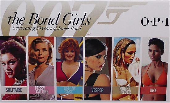 James bond women names