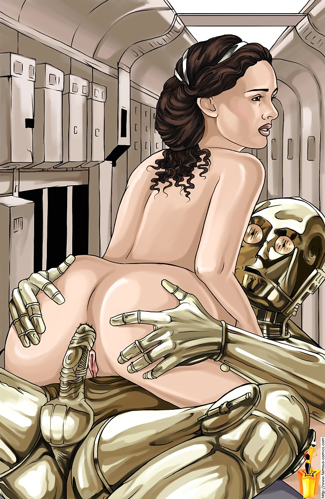 Nude Star Wars Bondage