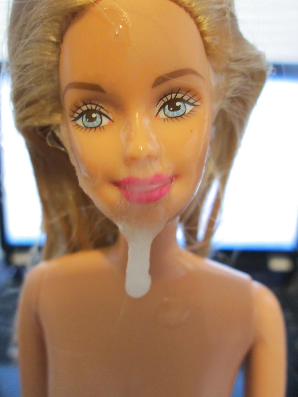 Barbie Doll Cum