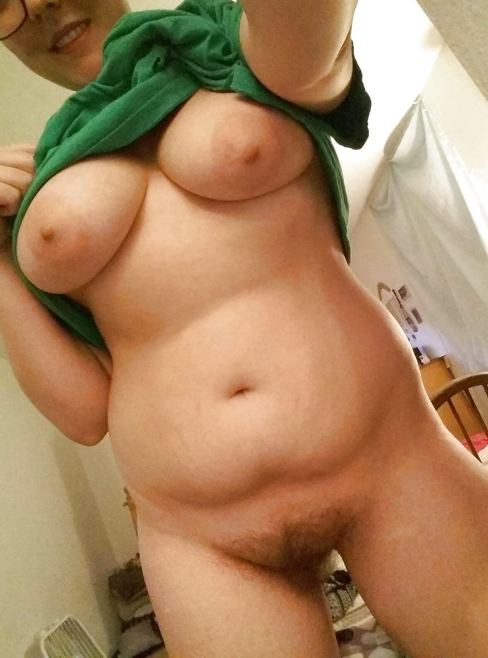 Chubby nerdy gainer raven triplex bubblegum nipples - 2 2
