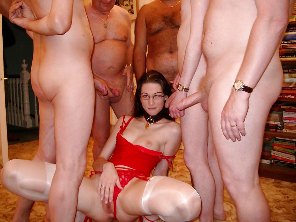 Brutal amateur interracial gangbang free sex pics
