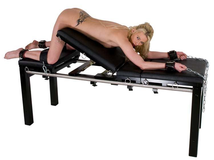 Fetters rope bondage table